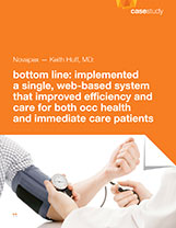 SINGLE SYSTEM IMPROVES EFFICIENCY FOR OCC HEALTH/ URGENT CARE